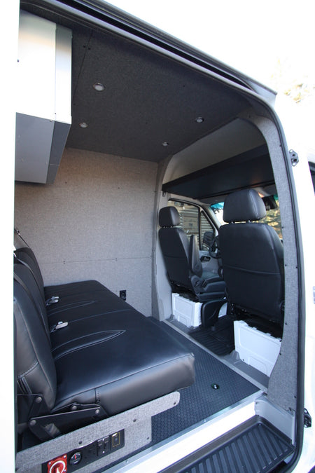 2007-2018 / Sprinter Van B-Pillar Trim Kit - Graphite Tweed