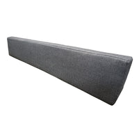 "Fabric - Loose Back Rest Triangle Cushion - Use w/Folding Bench Seat - 58"", Northshore Charcoal"