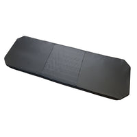 "76"" Hanging Platform Bed Cushion, 3""Cooling Gel Foam, Dark Graphite Fabric"