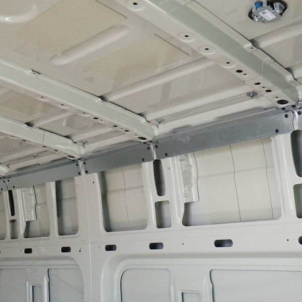 07+ Sprinter Van 144 - Upper Cabinet Wall Brace Kit
