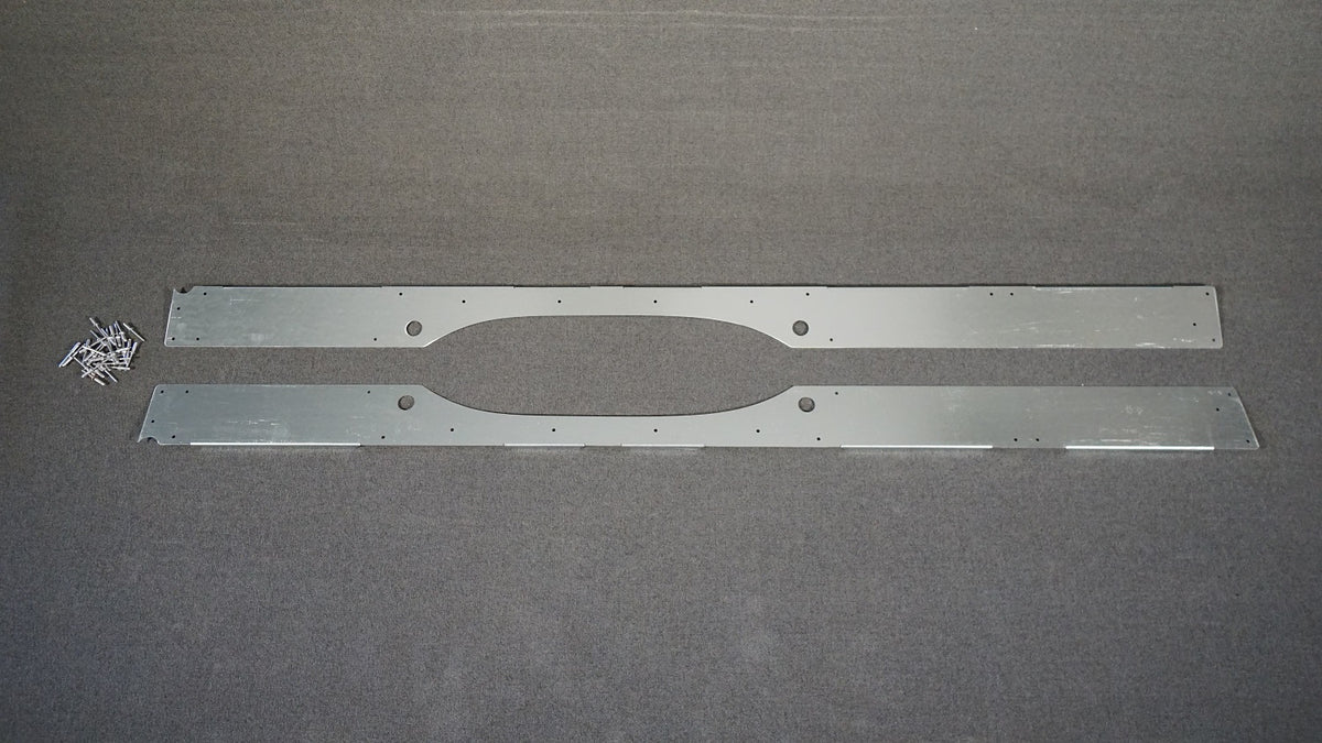 07+ Sprinter Van 144 - Lower Furniture Wall Brace Kit