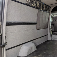 "2007-2018 Sprinter Crew Van Complete Interior Finishing Kit 170""W.B. Non-Ext."