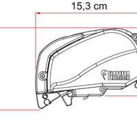 """NEW"" Fiamma Top Mount Awning F80S - 170 ext"