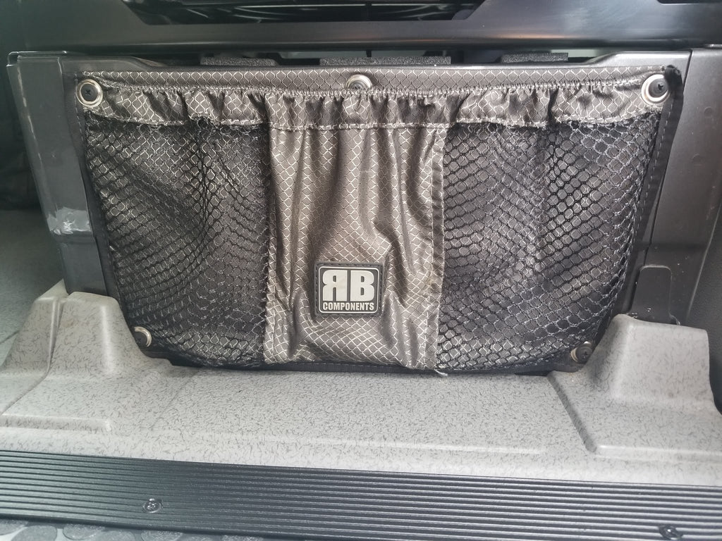 07 + Sprinter Van Fabric - Front Seat Stuff Bag - PS/DS *WORKS for Factory Swivel)