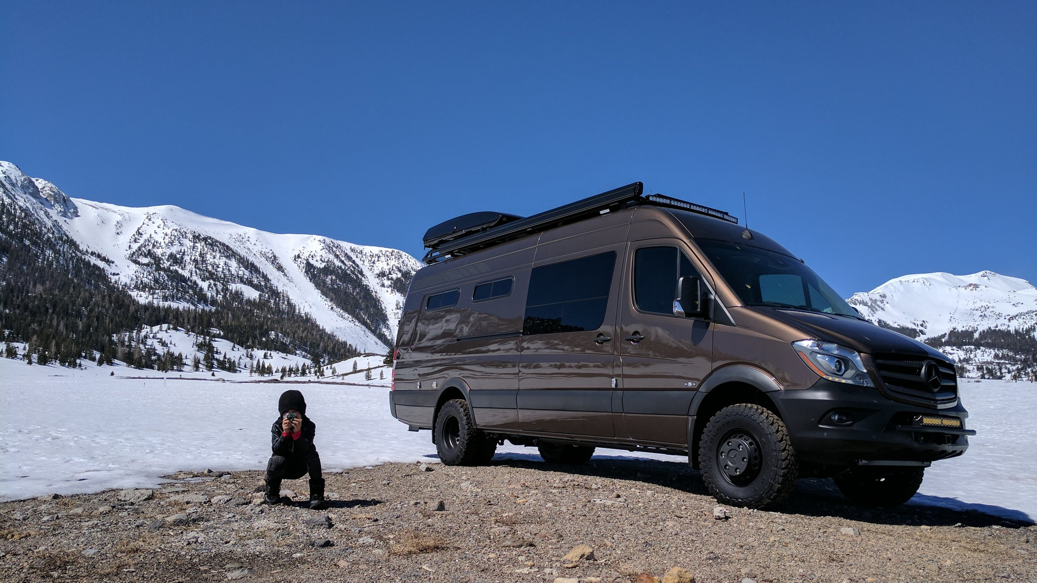 RB Touring Van - 170ex 3500 4x4
