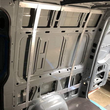 07+ Sprinter Van - Vertical Wall Brace Kit