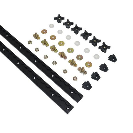 Double Board Rack L-Track Hardware Mount Kit