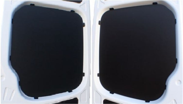 07 Sprinter Van Rear Door Window Panel Kit Black