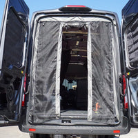 2014+ Ford Transit Rear Door Bug Net (High Roof ONLY)