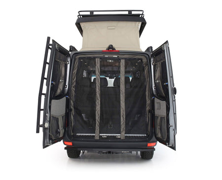 2019+ Sprinter Van Fabric - Low Roof Rear Door Bug Net