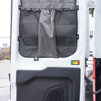 2014 + Transit  Van Rear Window Covers with Stuff Bags