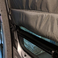 2007 + Sprinter Van Fabric - Sliding Door Magnetic Window Shade w/Top Fasteners