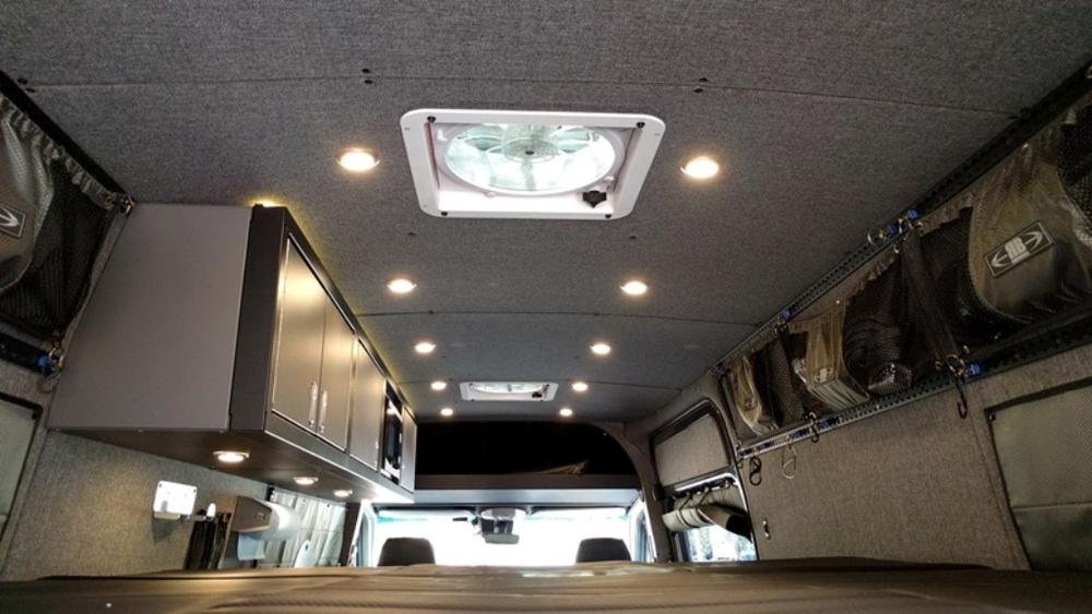 07 Sprinter Van Ceiling Liner Kit 144 Wb Upholstered