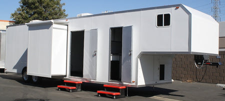38' Mobile Marketing Trailer - Tool Crib