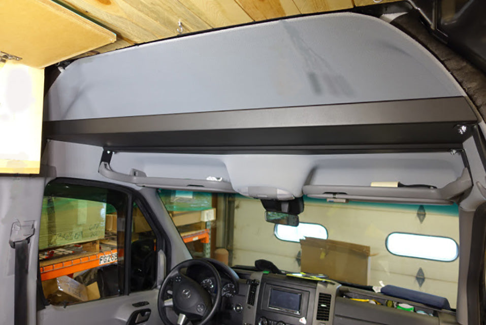 2007 2018 Sprinter Raised Headliner Shelf Rb Components
