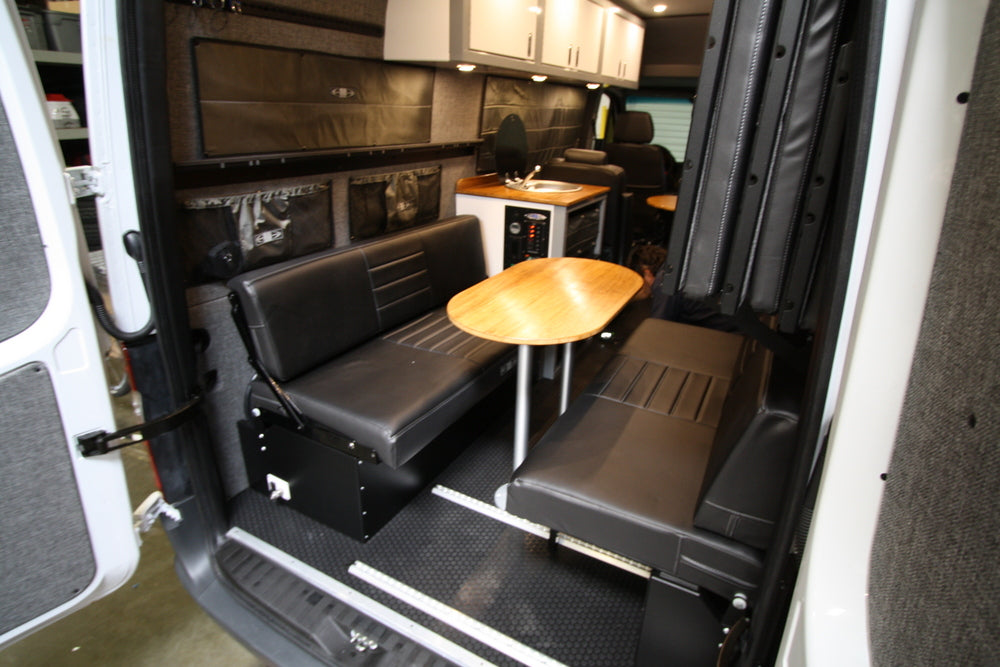 Sprinter Vans 58 Rear Dinette Bed Setup For 07