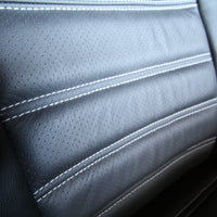 Mercedes Sprinter Van Custom Front Seat Cover, Leather