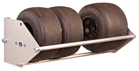 Go-Kart Tire Rack 24