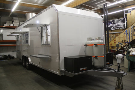 24' Concession Kitchen Trailer