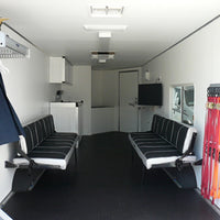 20ft V Nose Motorsports Trailer