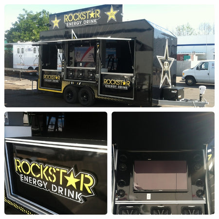 20ft Display Trailer Rockstar