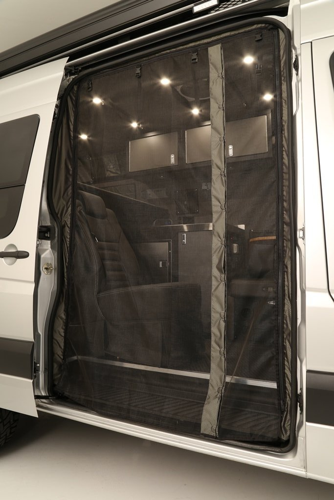 Passenger Side Sliding Door Bug Net