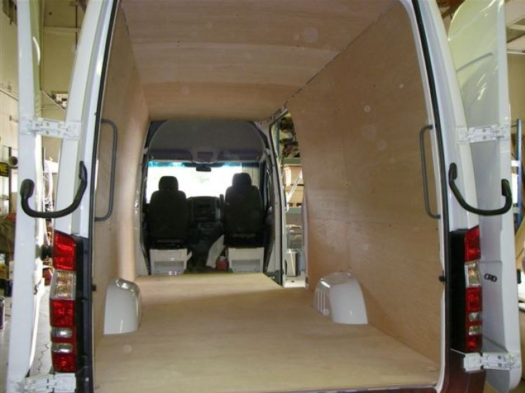 07 Sprinter Van Ceiling Liner Kit 144 Quot Wb Plywood Rb