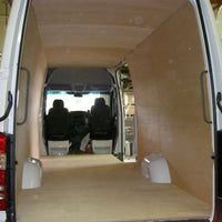 "07+ Sprinter Van Ceiling Liner Kit, 144""WB Plywood"