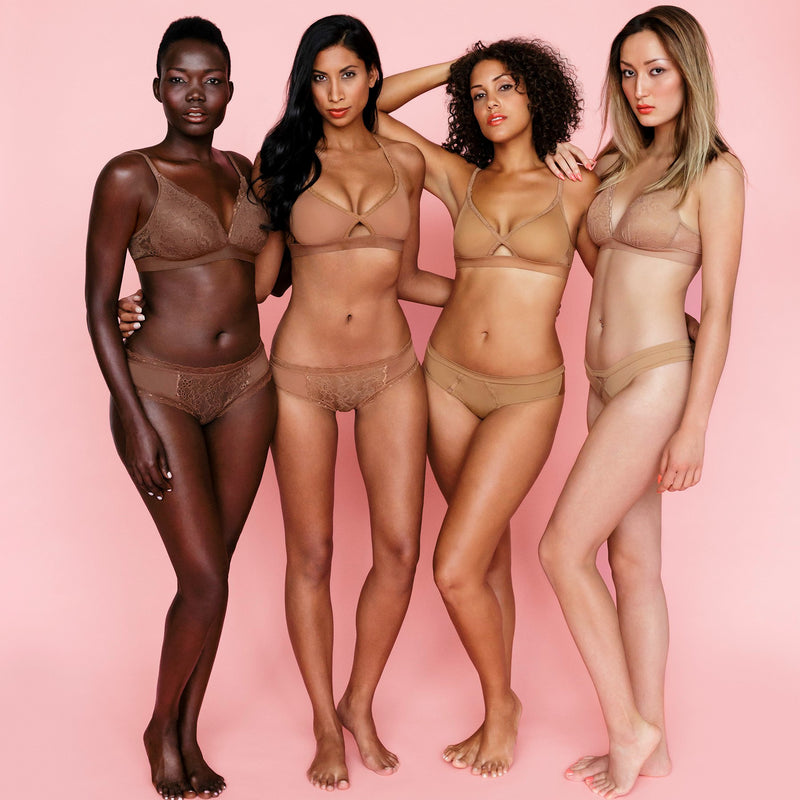 Melanin Nude Bras & Panties for you!