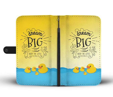 """DREAM BIG"" WALLET- PHONE CASE - The Cutest Little Things"