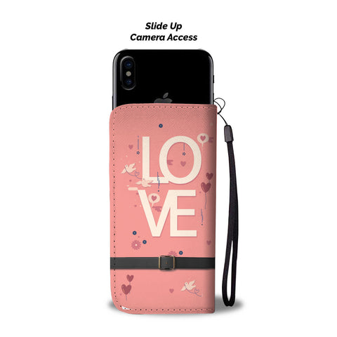 """LOVE"" WALLET- PHONE CASE - The Cutest Little Things"