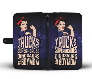 """#BOYMOM"" WALLET- PHONE CASE - The Cutest Little Things"