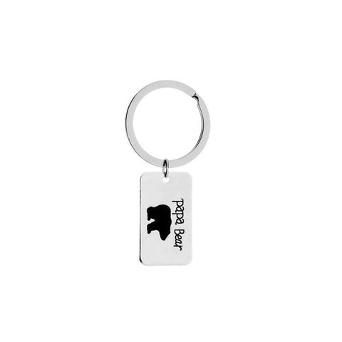 Papa Bear Keychain - The Cutest Little Things