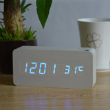 Wooden LED Clock - 50% Off Today!