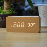 Wooden LED Clock - 50% Off Today! - The Cutest Little Things