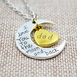 To The Moon & Back Necklace - The Cutest Little Things