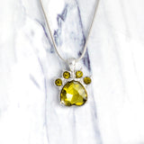 Baby Paws Birthstone Pendant - The Cutest Little Things