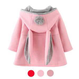 The Fuzzy Bunny Overcoat - The Cutest Little Things