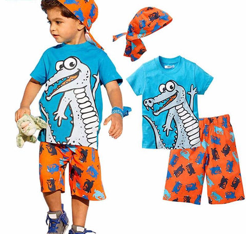 The Gator T-shirt Set - The Cutest Little Things