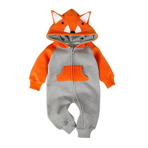 The Fox Baby Playsuit - The Cutest Little Things