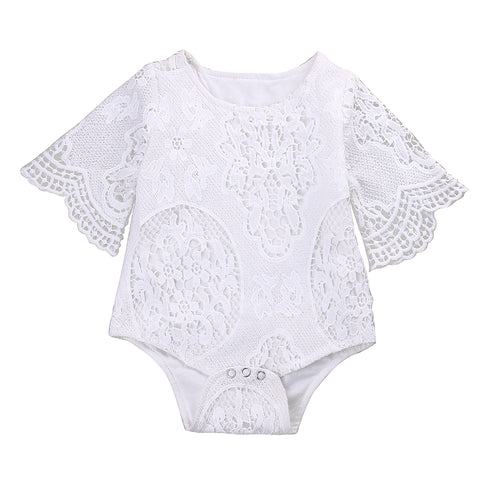 The Cutest Little Lace Onesie - The Cutest Little Things