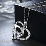 Mother & Child Heart Necklace - The Cutest Little Things