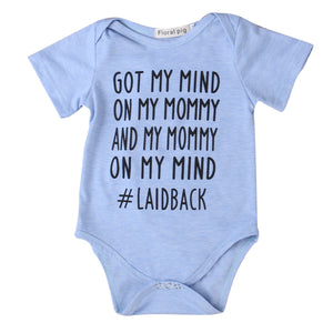 Laidback Baby Onesie - The Cutest Little Things