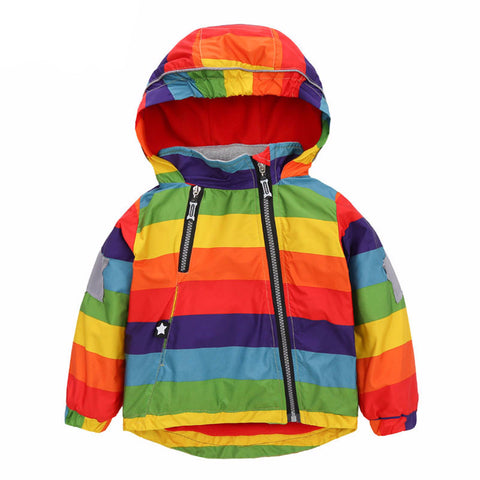 Rad Rainbow Raincoat - The Cutest Little Things