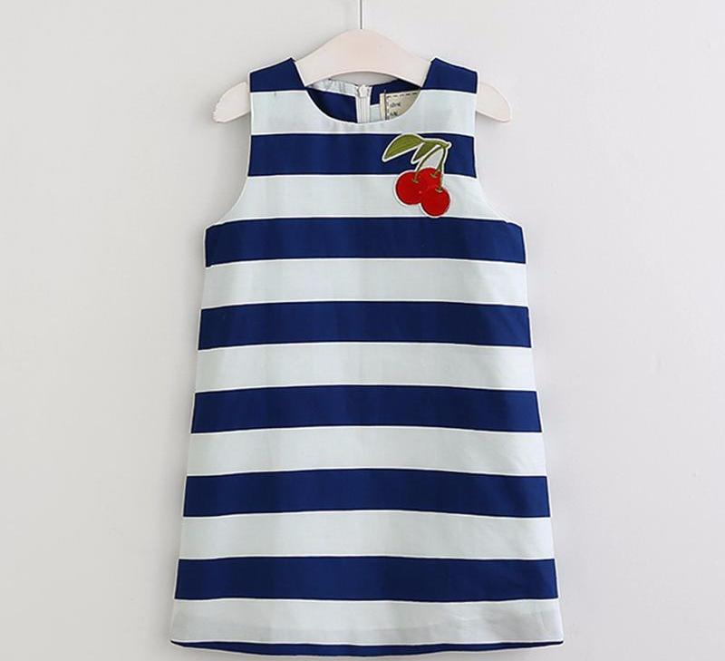 The Cutest Little Striped Cherry Dress - The Cutest Little Things