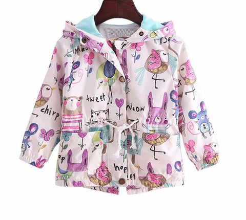 The Cutest Little Tweet Chirp Windbreaker - The Cutest Little Things
