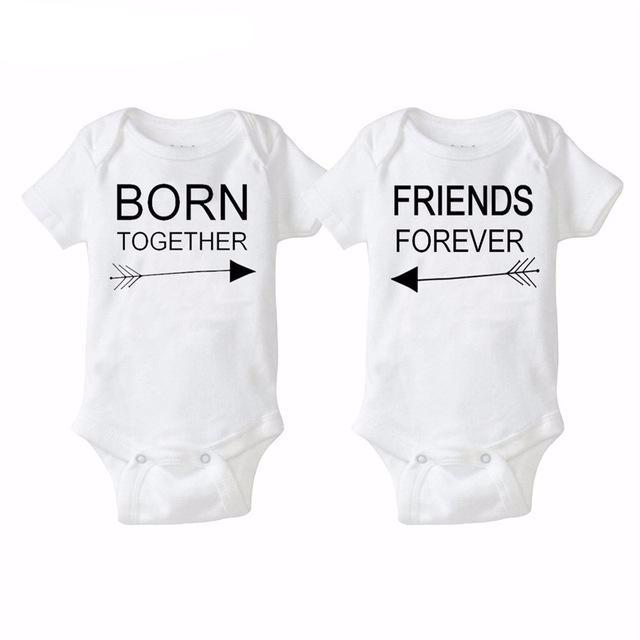 Twin Onesies - The Cutest Little Things