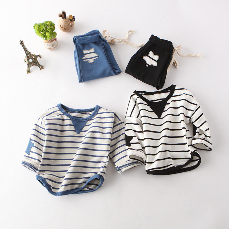 Spring Stripes Toddler Set - The Cutest Little Things