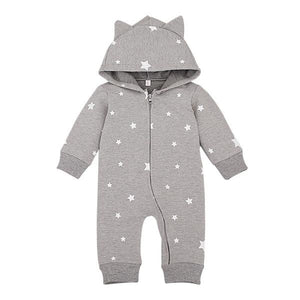 The Cutest Grey Star Romper - The Cutest Little Things