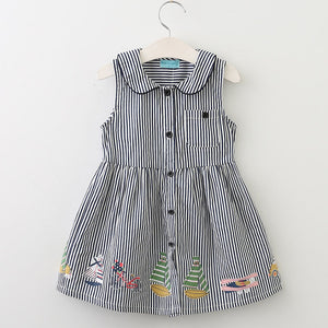 The Cutest Little Sleeveless Striped Baby Dress - The Cutest Little Things